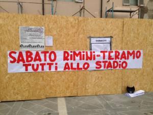Sabato Rimini-Teramo, tutti allo stadio