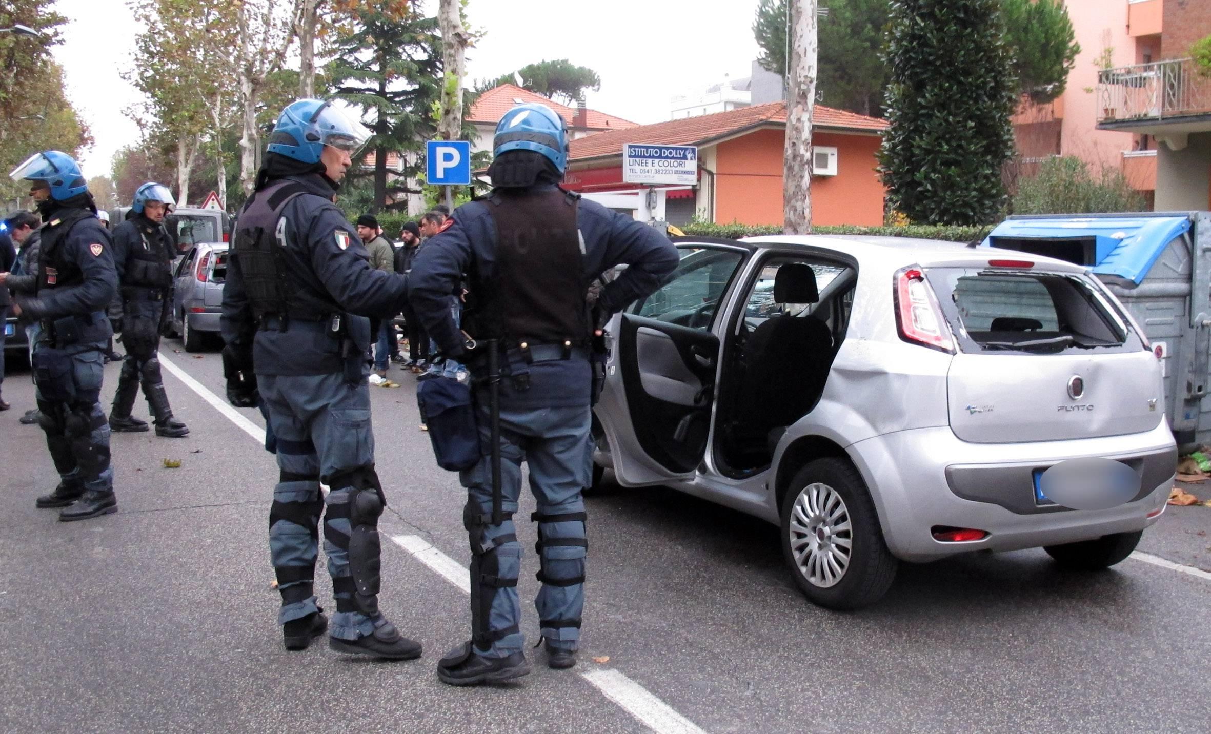 scontri prima di Rimini-Teramo