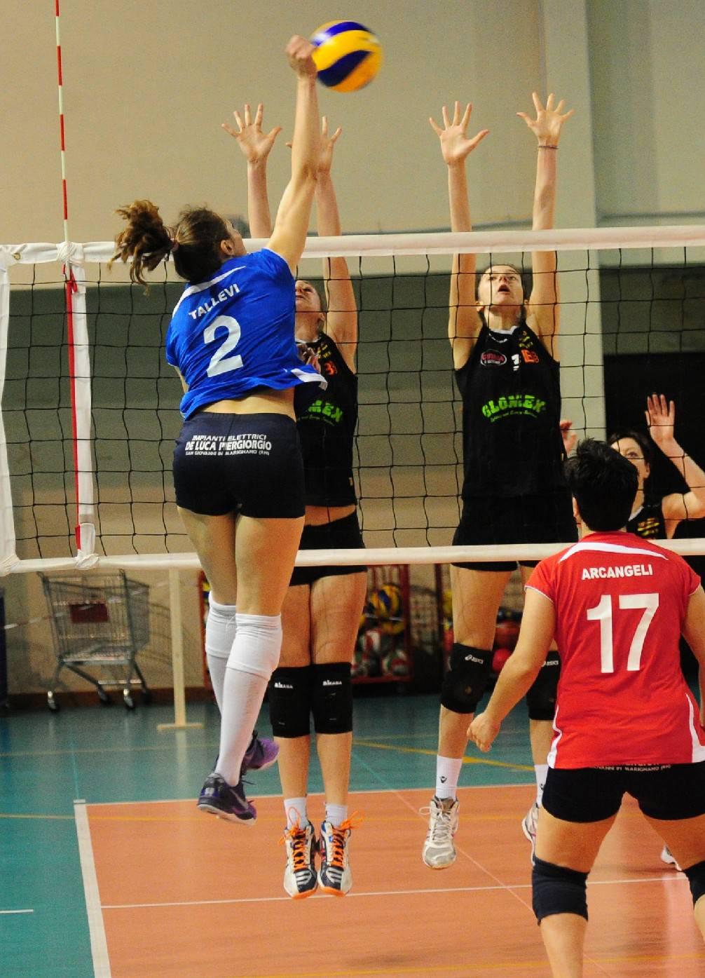 MT Motori Idea Volley Bologna-Battistelli San Giovanni in M. 2-3
