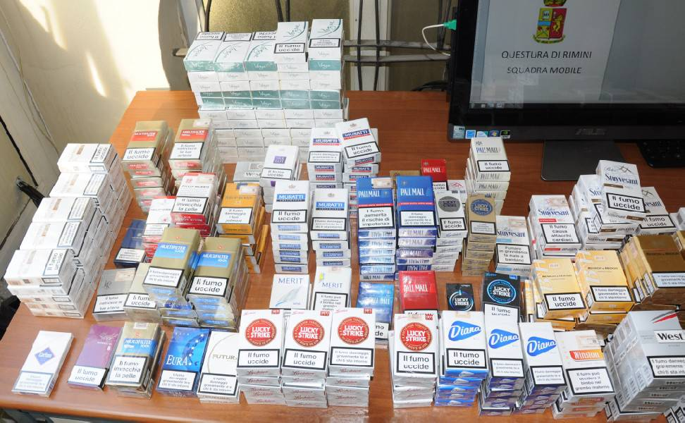 500 pacchetti di sigarette