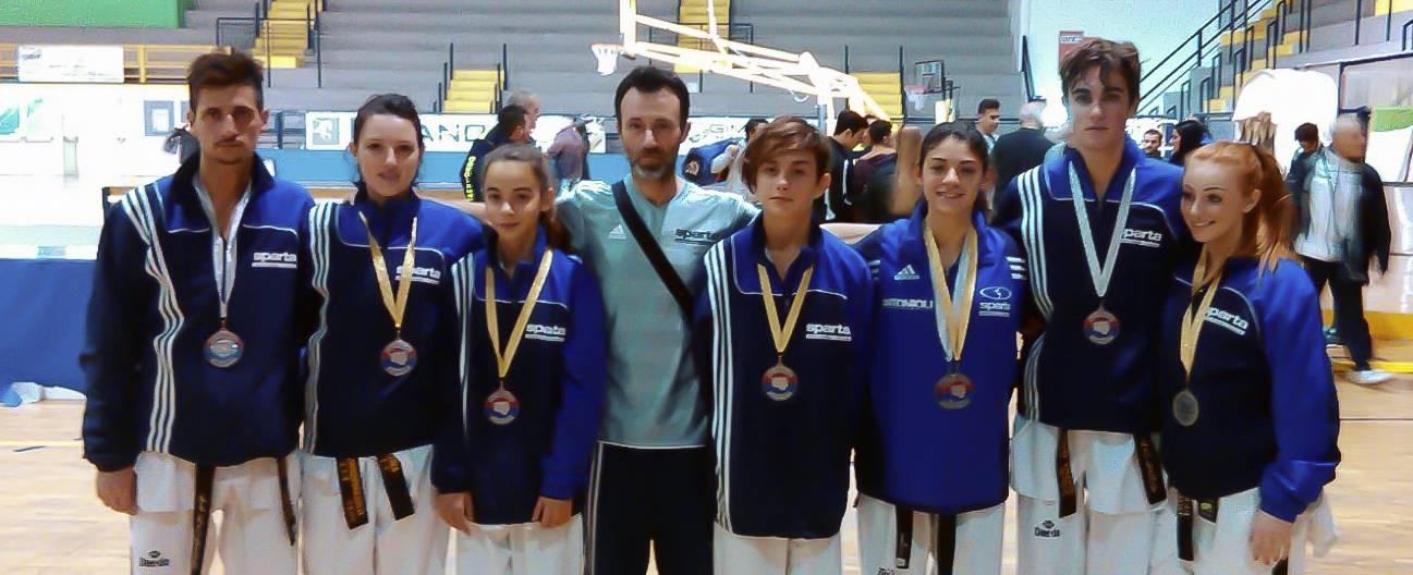 taekwondo della polisportiva riccione