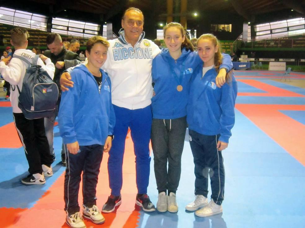 Centro Karate Riccione agli Italiani