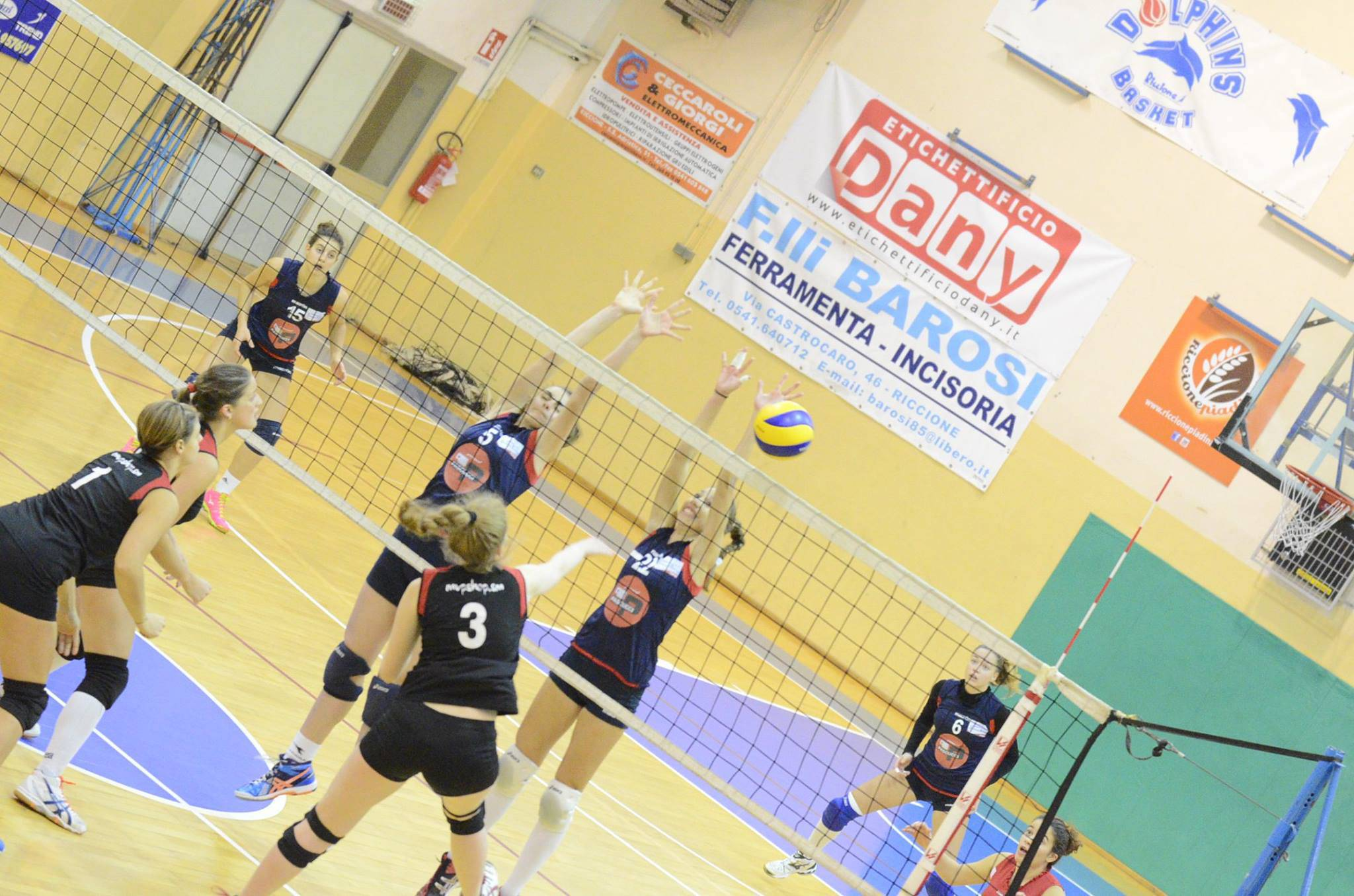 Riccione Volley-Riviera Volley Rimini 3-0