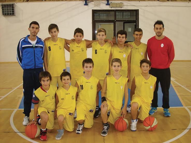 Basket Under 15: Junior Coriano