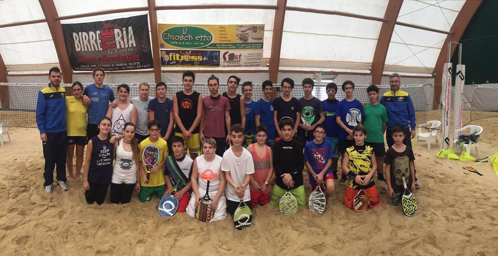 Beach Tennis. È iniziata l'attività del Cpa del Pura Vida.