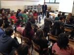 l'assessore Conti incontra gli studenti