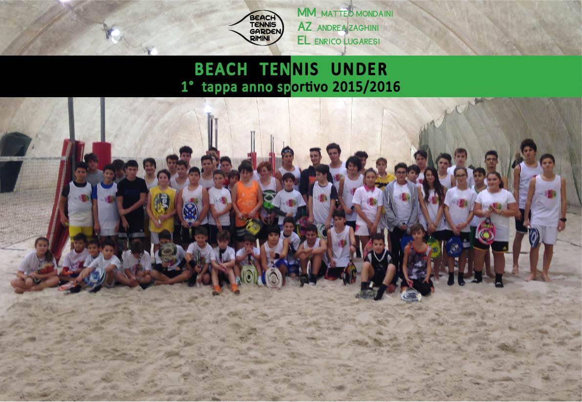 68 baby campioni in festa sulla sabbia del Garden