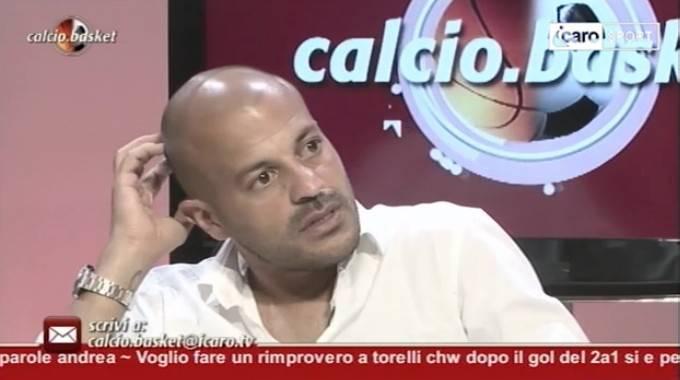 Adrian Ricchiuti ospite di Calcio.Basket
