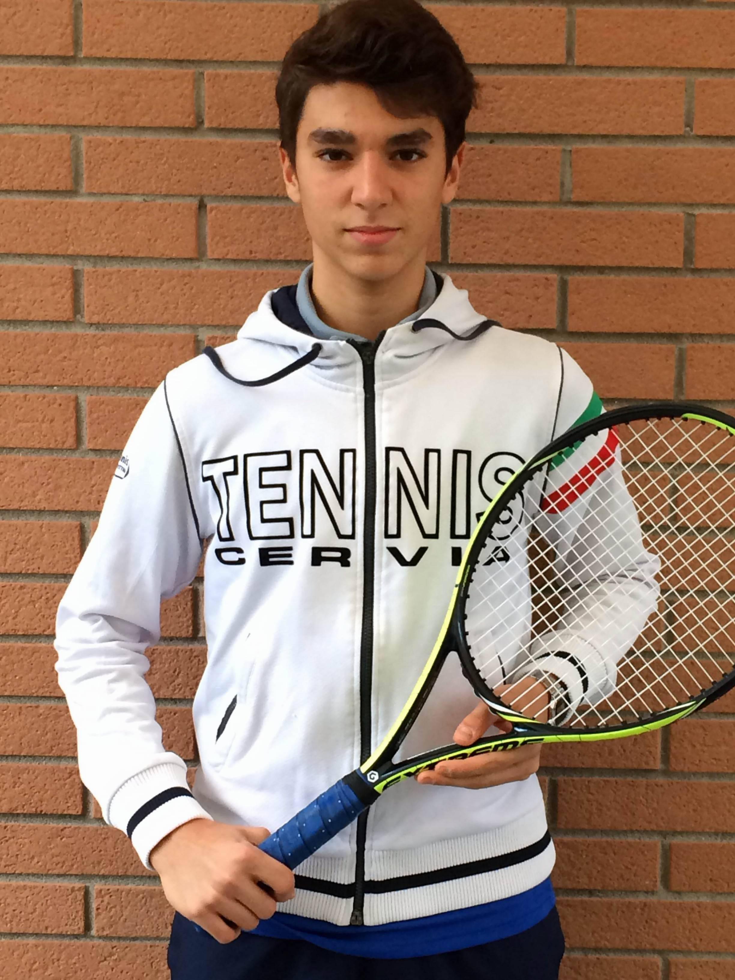 portacolori del Circolo Tennis Cervia