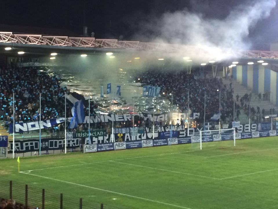 Spal-Rimini, trasferta vietata ai tifosi biancorossi