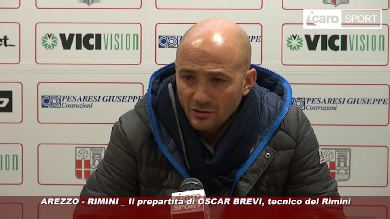 Riparte il campionato. Rimini ad Arezzo, la vigilia del tecnico Oscar Brevi