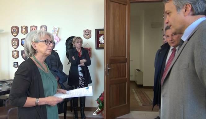 il Prefetto Strano e il segretario Tonelli (Newsrimini.it)