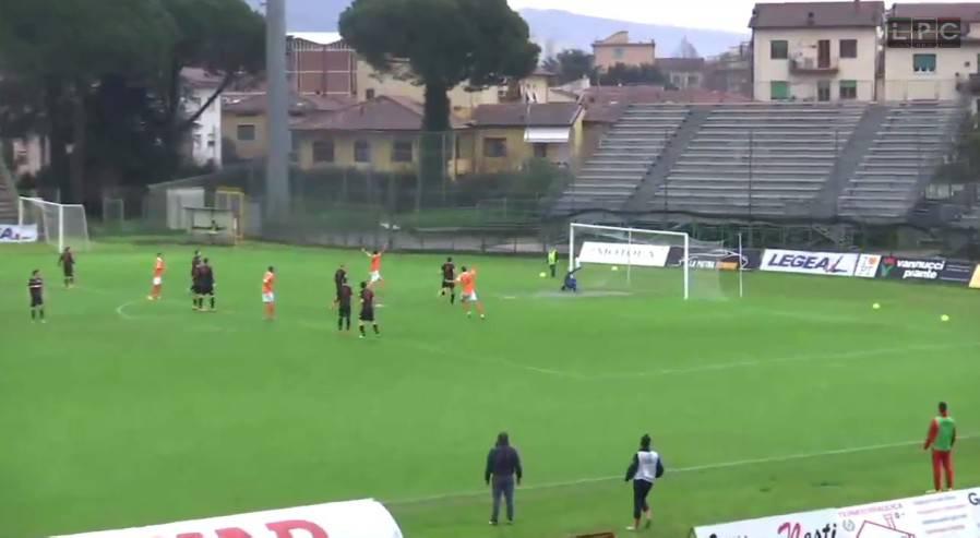 Pistoiese-Rimini 1-0