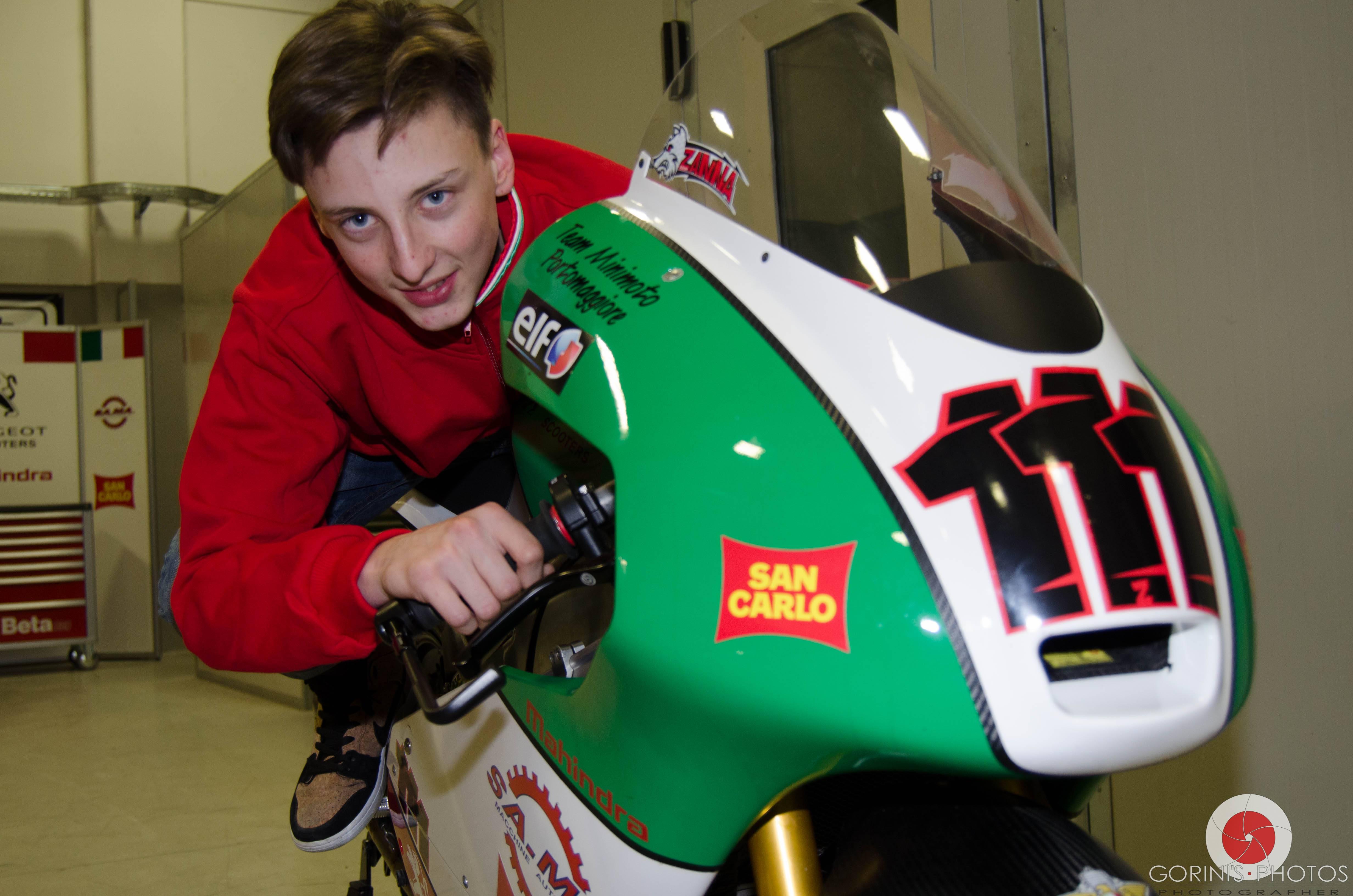 Kevin Zannoni parteciperà al Campionato Italiano Moto3 su Mahindra
