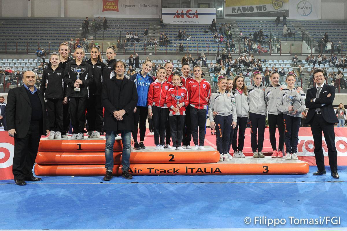 Campionato Italiano di Ginnastica: 10° posto per la Polisportiva Celle Rimini