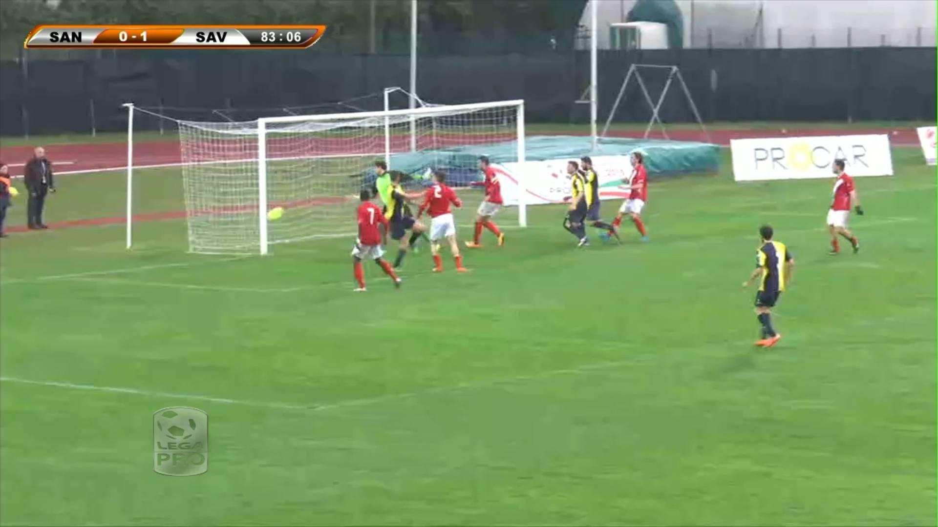 Santarcangelo-Savona 1-1