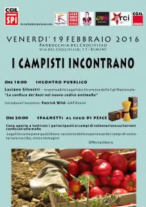 Incontro Campisti 19 febbraio 2016