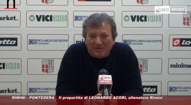 Acori alla vigilia di Rimini-Pontedera: