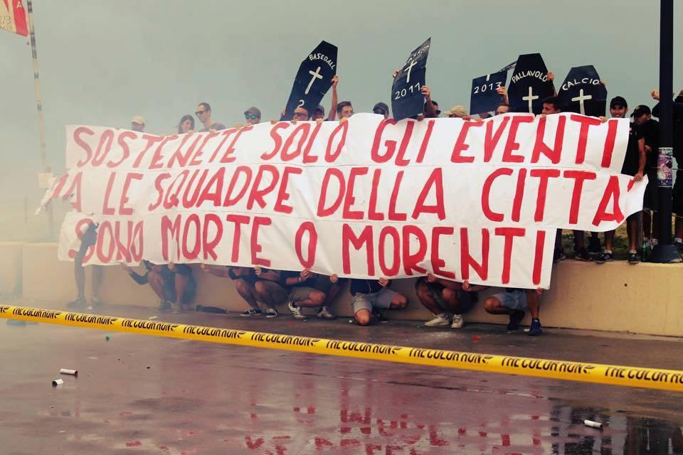 I Red White Supporters sulla situazione critica della Rimini Calcio: