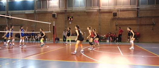 Volley C femminile. Alfonsine-Riccione Volley 1-3