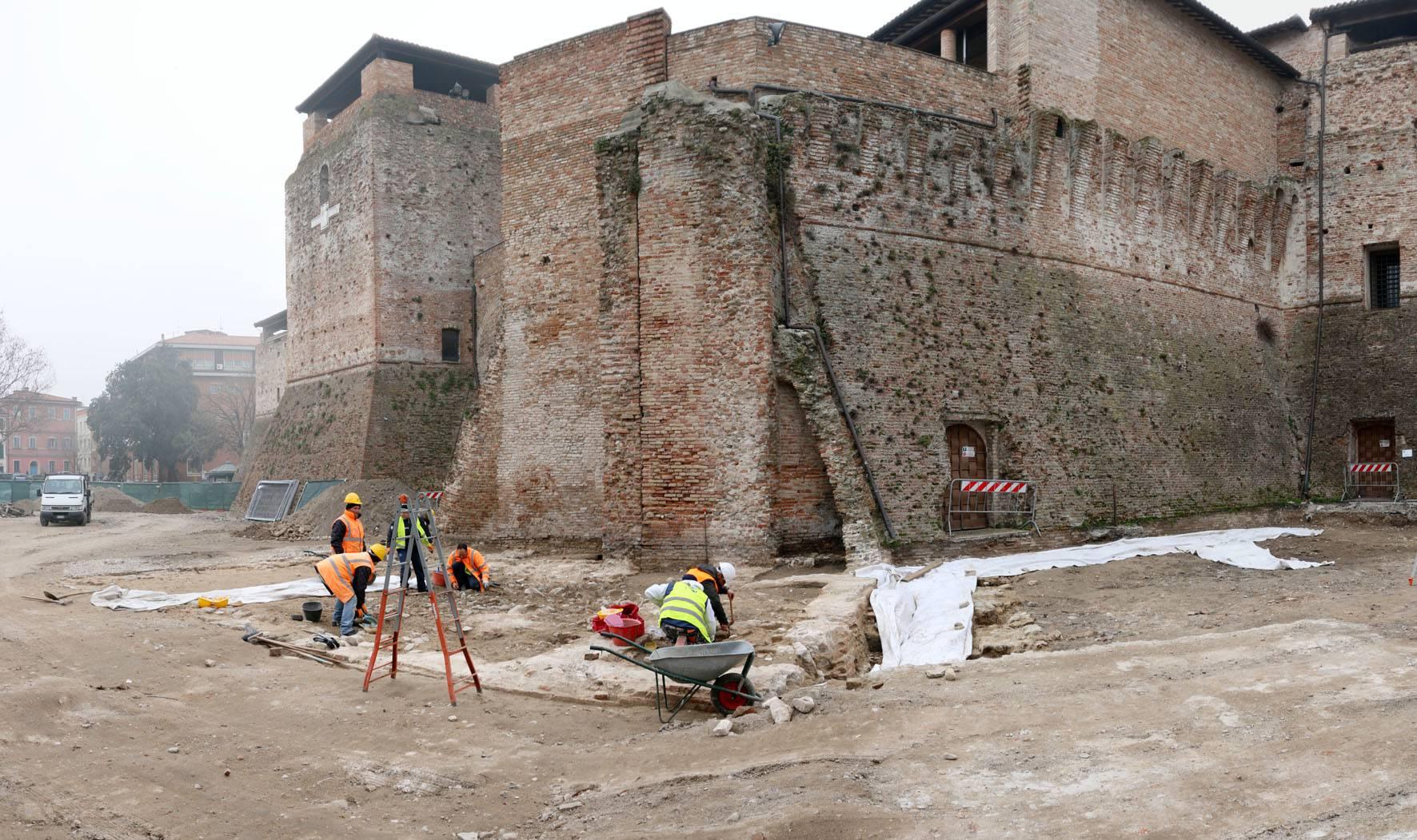 Bonifica e messa in sicurezza piazza malatesta, approvato progetto