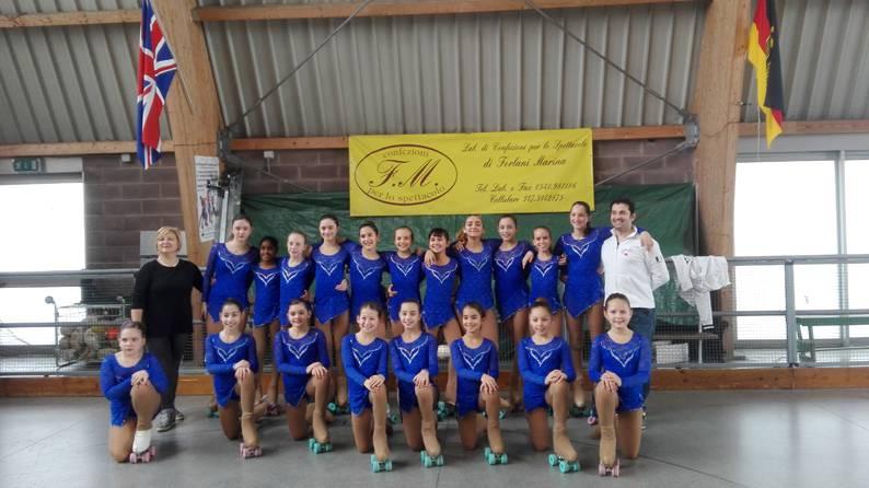 Il Pattinaggio Artistico Riccione primo ai campionati provinciali FIHP