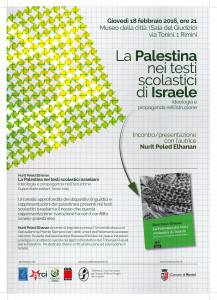 locandina palestina e israele