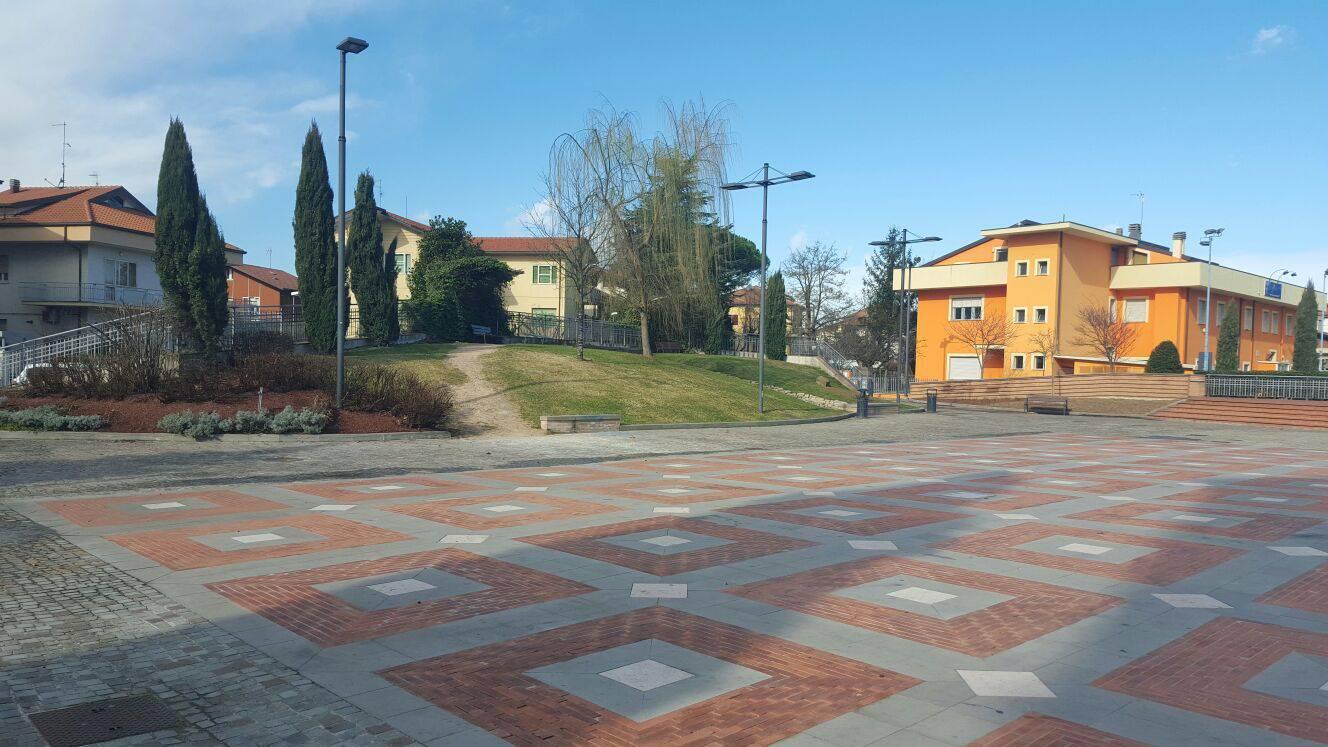 Conclusi i lavori in piazza San Lorenzo a Riccione