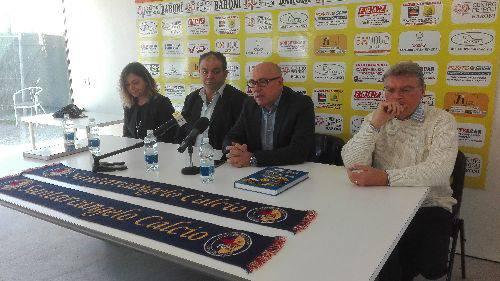 Il Santarcangelo presenta il nuovo socio, la società modenese '23 e venti4'