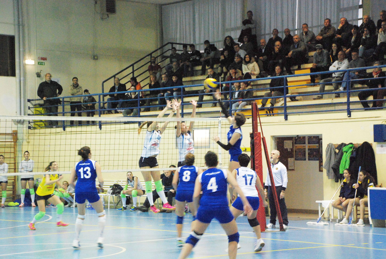 Caf Acli Stella Rimini-School Volley Bastia Umbra 0-3