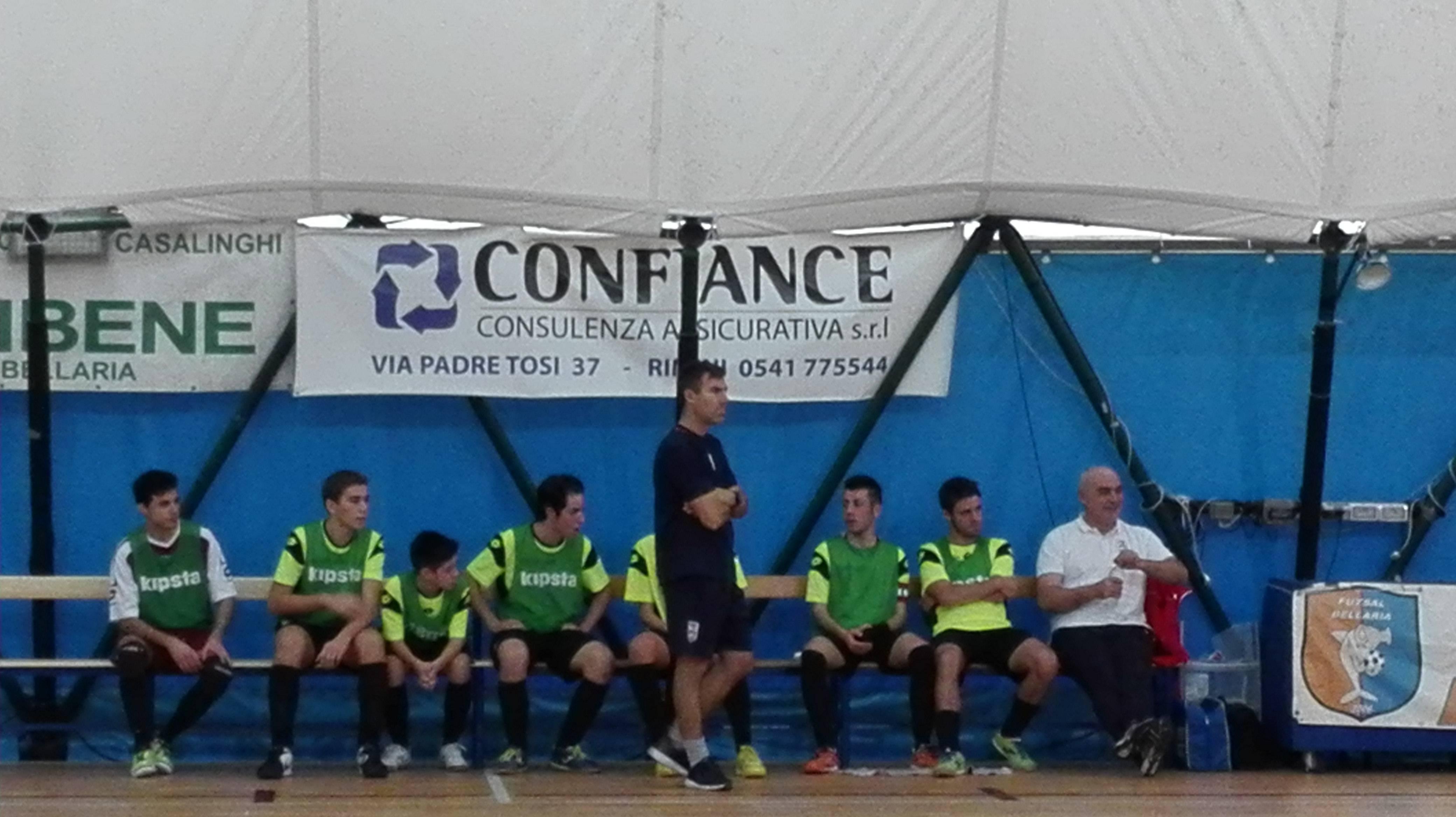 Calcio a 5 Juniores. Rimini-Gatteo 9-1