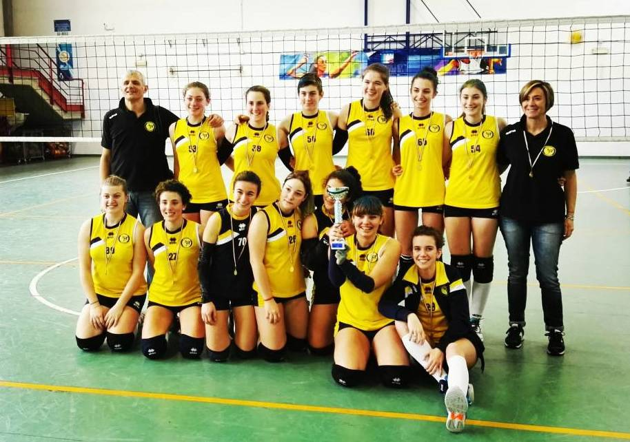 BVOLLEY campione provinciale Under 16