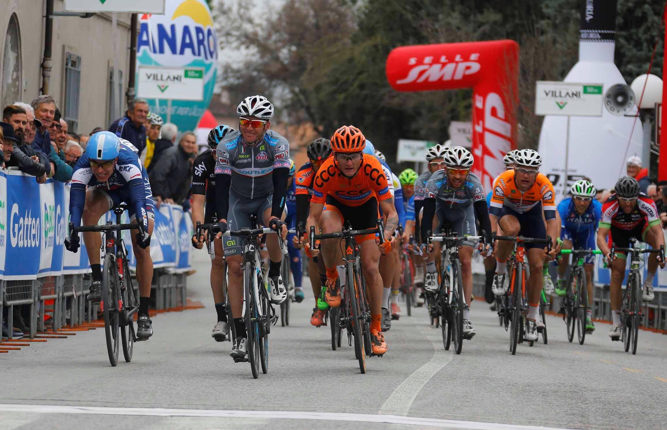 Venerdì 25 marzo parte da Riccione la 2a tappa della gara ciclistica Coppi e Bartali