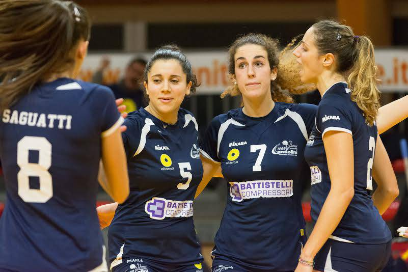 Battistelli San Giovanni in M.-Mt Motori IdeaVolley Bologna 3-0