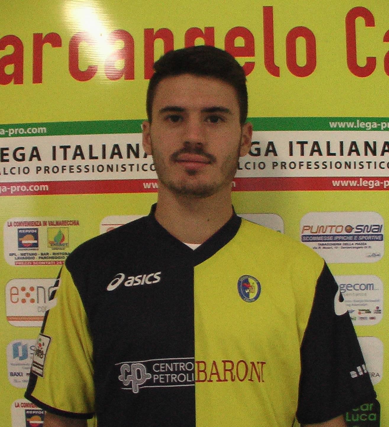 Santarcangelo Calcio. Fabio Gerli tra Lucchese e L'Aquila
