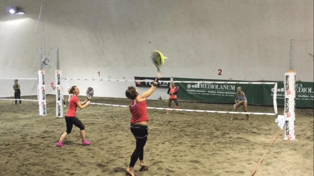 Giocata la 7a giornata del campionato di beach tennis femminile
