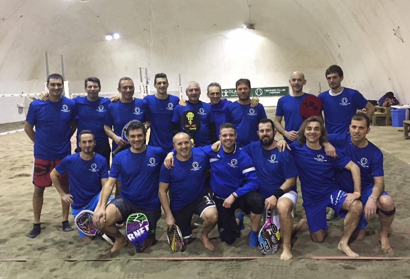 Scattato martedì il campionato primaverile maschile di beach tennis al Tennis Viserba