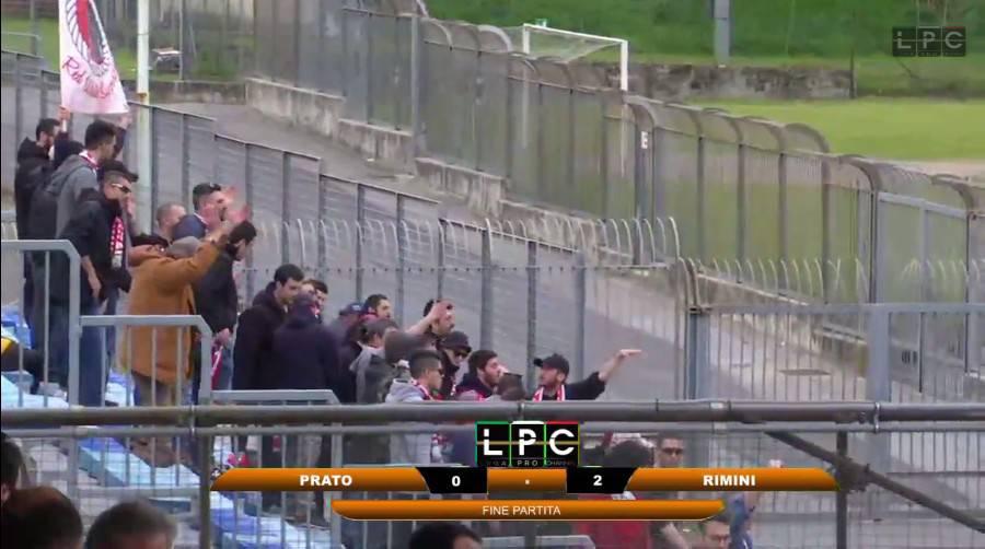 Giudice Sportivo. 1.500 euro di multa al Rimini