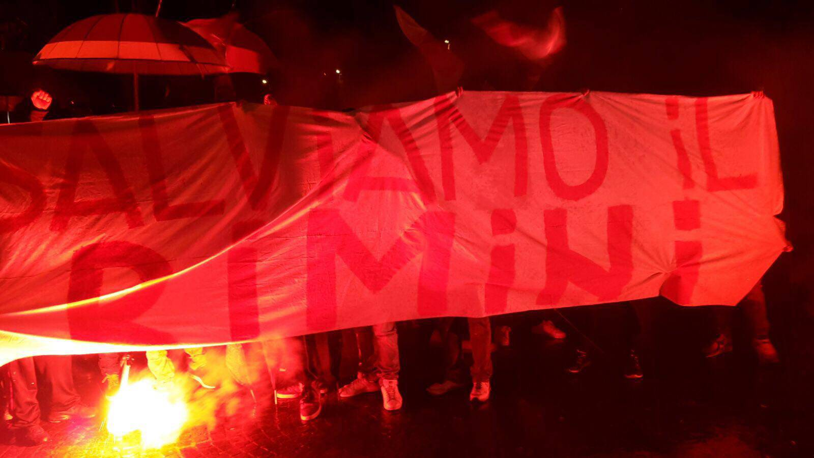 I tifosi del Rimini