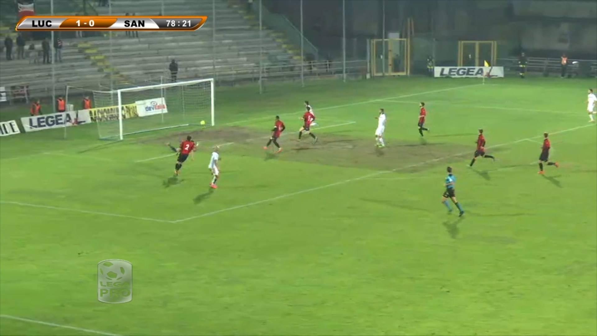 Lucchese-Santarcangelo 1-1