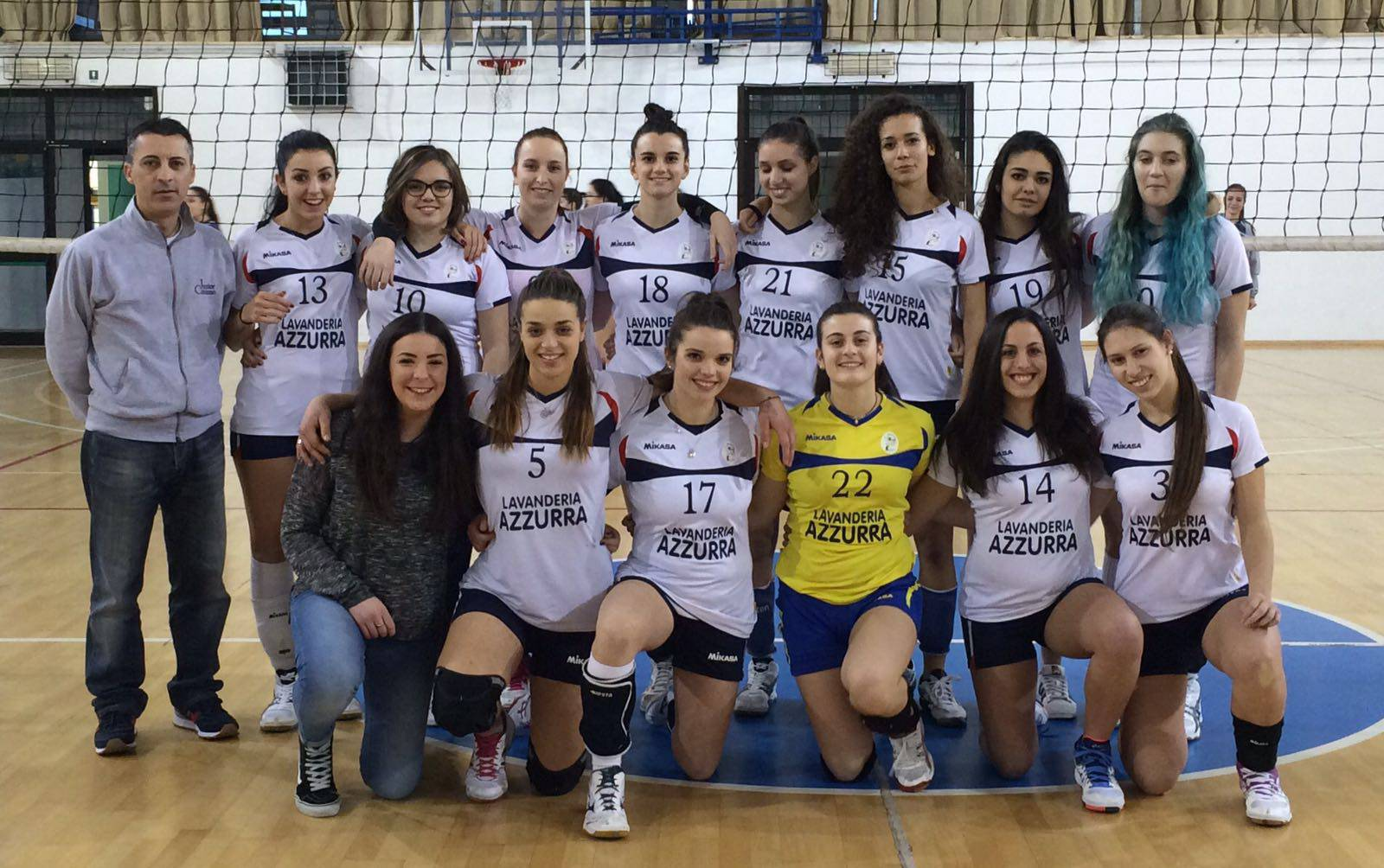 Volley Junior Coriano. Basta un set per la promozione in Prima Divisione