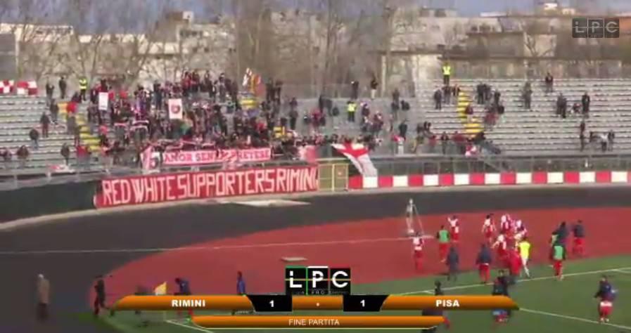 Rimini Calcio. Patto tra squadra e tifosi