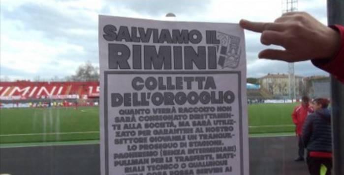 """Rimini Calcio. Raccolti 4.525 euro con la """"Colletta dell'Orgoglio"""""""