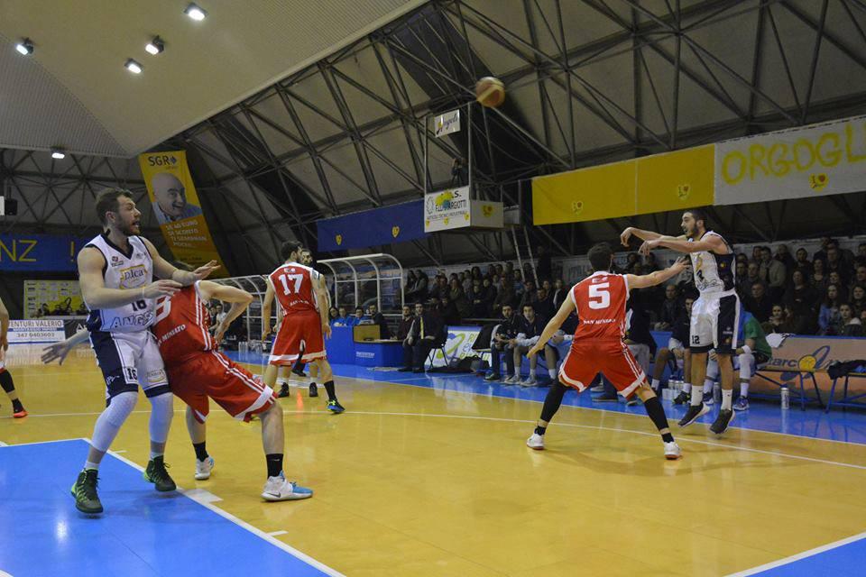 Dulca Santarcangelo-Etrusca Basket San Miniato 64-76