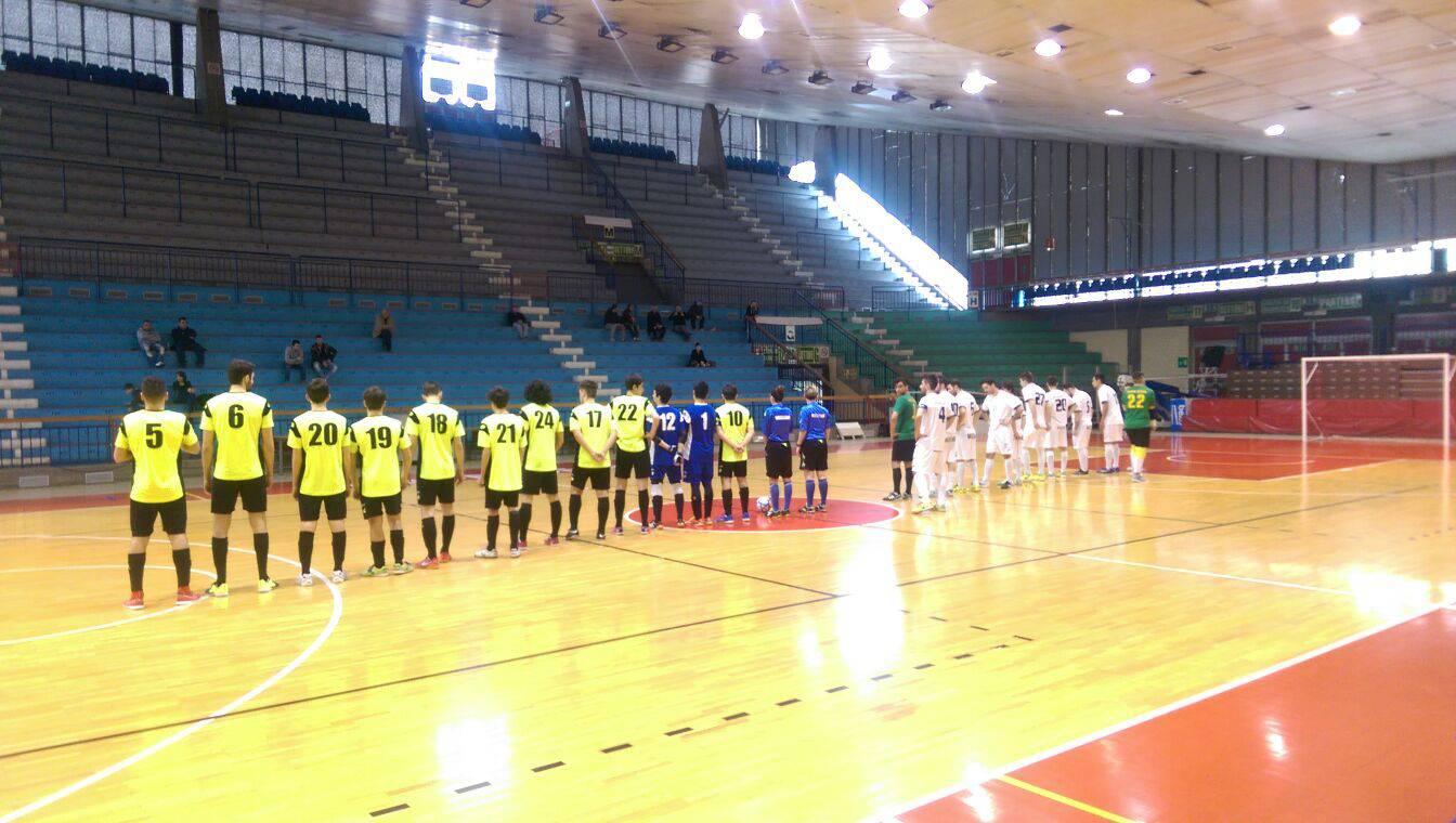 Calcio a 5. Olimpia Regium-Rimini 3-1