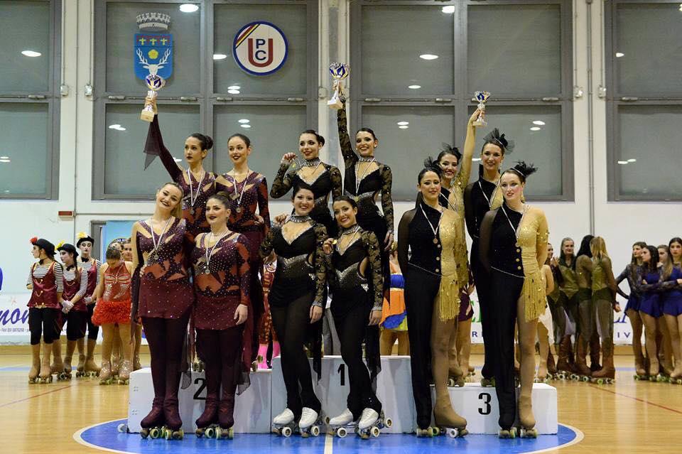 La Rinascita Sport Life al Campionato Italiano Gruppi Show e Precision