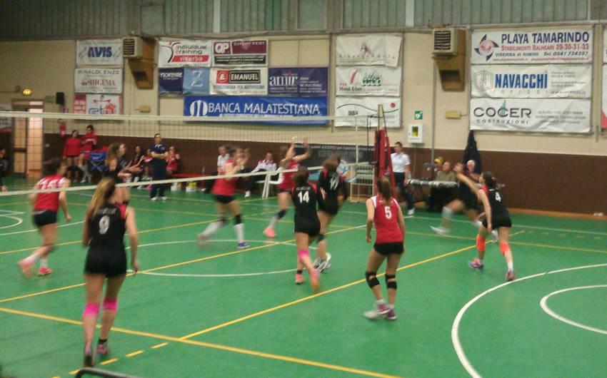 Volley C femminile. Riviera Volley Rimini–Riccione Volley 0-3