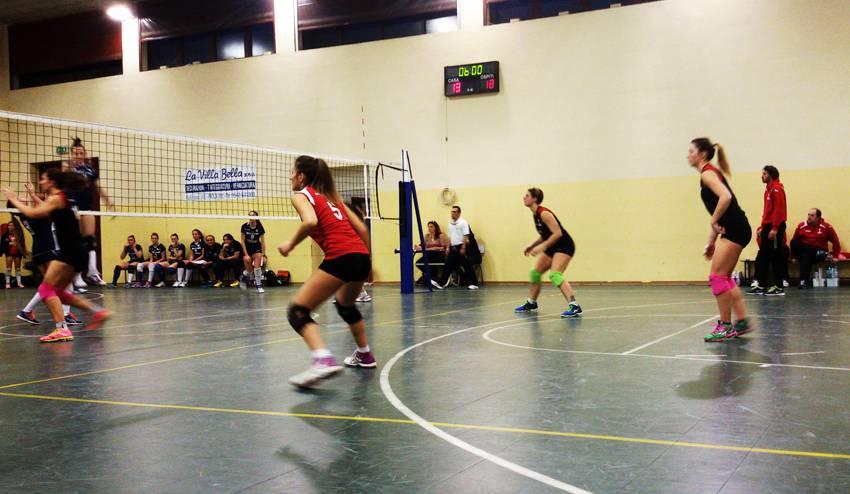 Volley C femminile. Studio Montevecchi Imola-Riccione Volley 0-3