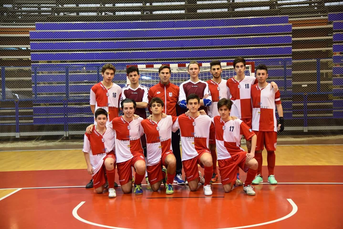 Calcio a 5 Juniores. Rimini-Città del Rubicone 10-2