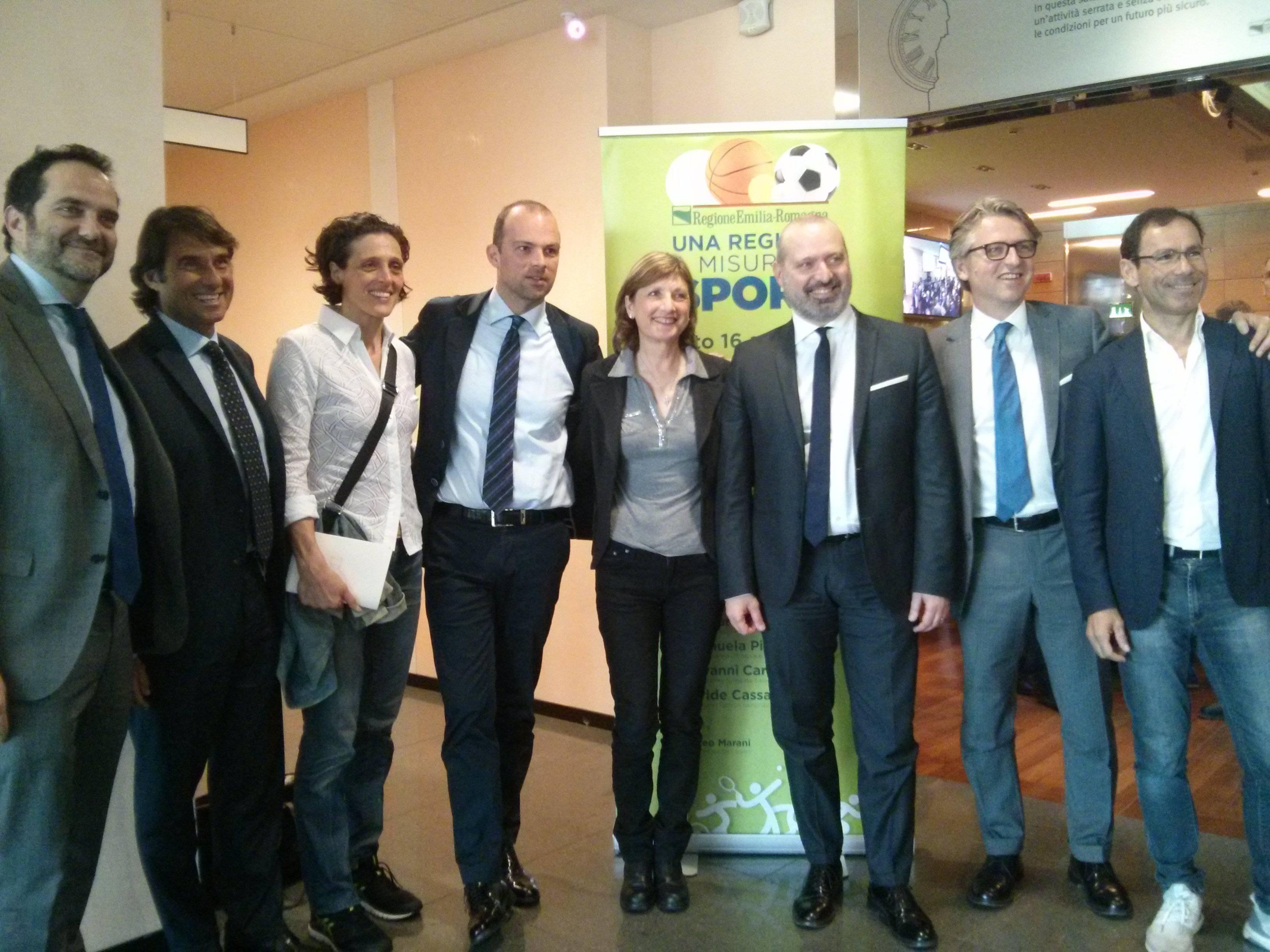Sport in Emilia Romagna, entro l'estate la nuova legge regionale